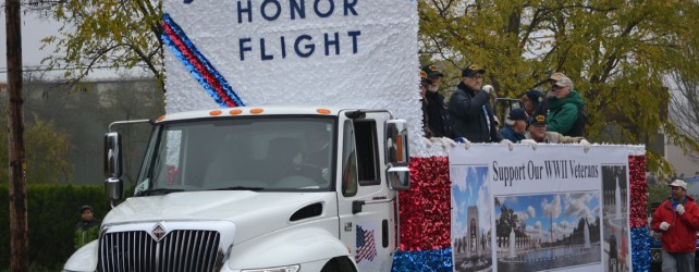 EEYM in Springfield & Albany Veterans Day Parades